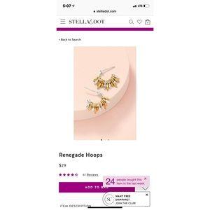 Stella & Dot Jewelry - Stella & Dot Renegade Earrings